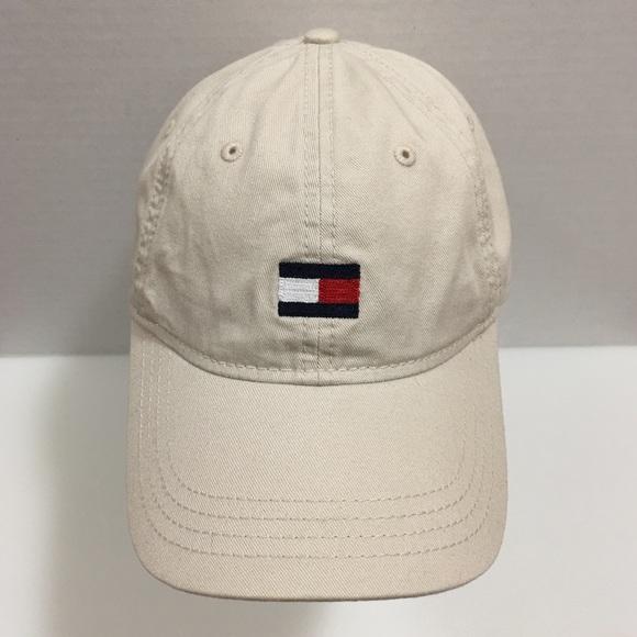 dc96a03318b Tommy Hilfiger Strapback Cap with Flag Logo